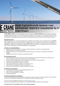 Vacature template offshore