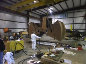 E-Crane USA rebuilds clamshell grab for Sherwin Alumina