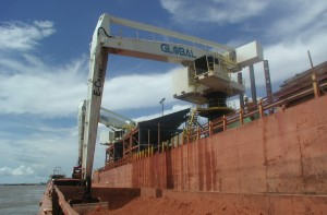 GMSV floating E-Crane terminal in Venezuela