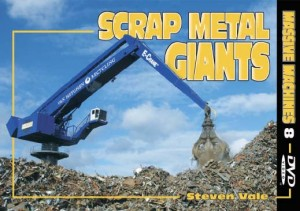 DVD Cover Scrap Metal Giants by Steven Vale