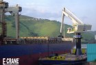 Seaboard Midema grain terminal 1500B Series Floating barge mounted