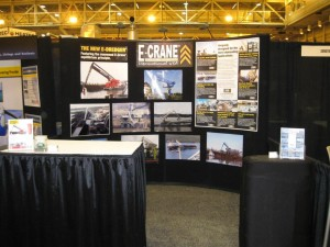 E-Crane booth at the International Workboat Show 2009