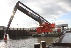E-Dredger® model 10290B for client Herbosch-Kiere (operated by Kraaijeveld B.V.) for port and river maintenance.