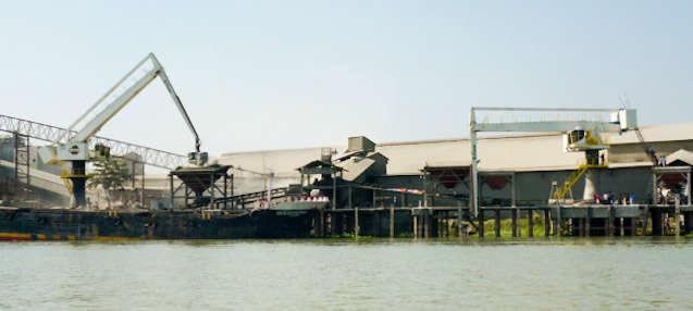 E-Cranes at Premier Cement Mills