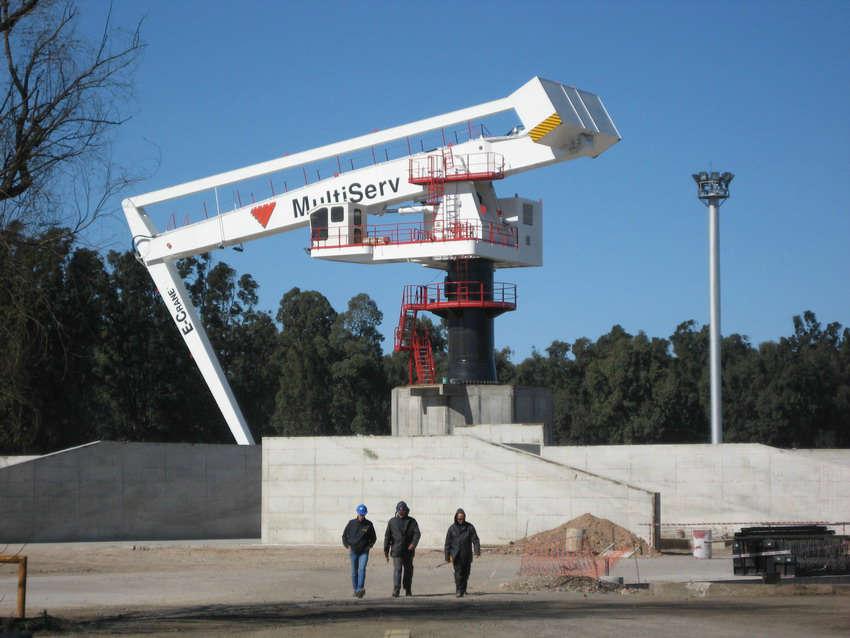 E-Crane installation complete