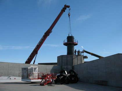 E-Crane installation in Argentina
