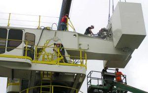E-Cranes Under Construction