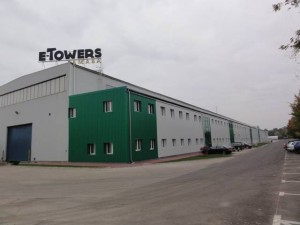Tower production lines at E-Towers Famaba