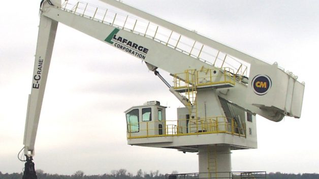 1500 Series E-Crane at Lafarge Corporation, Joppa, IL, USA