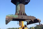 Tearing down the old Seram crane